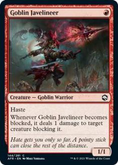 Goblin Javelineer