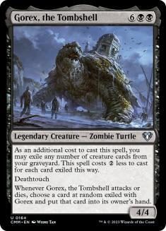 Gorex, the Tombshell