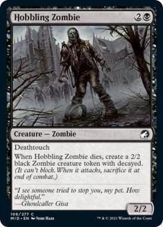 Hobbling Zombie