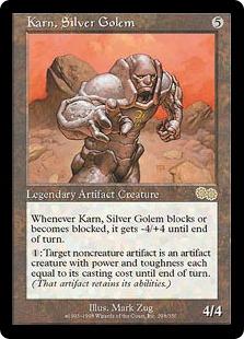 Karn, Silver Golem
