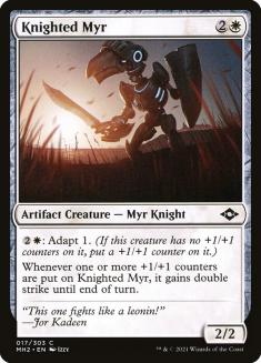 Knighted Myr