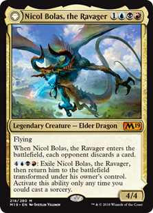 Nicol Bolas, the Ravager