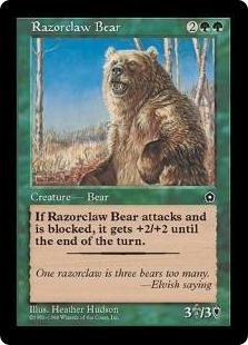 Razorclaw Bear