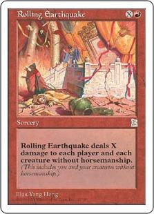 Rolling Earthquake