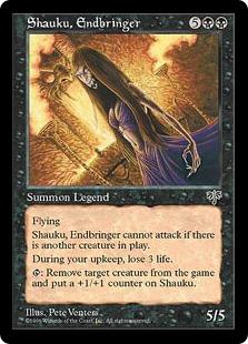Shauku, Endbringer