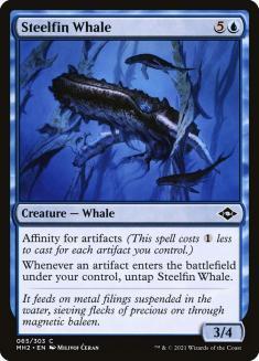 Steelfin Whale