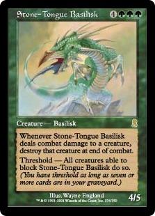 Stone-Tongue Basilisk