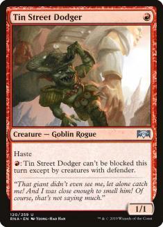 Tin Street Dodger