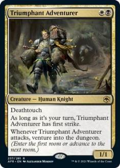 Triumphant Adventurer