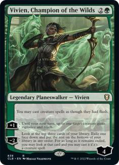 Vivien, Champion of the Wilds
