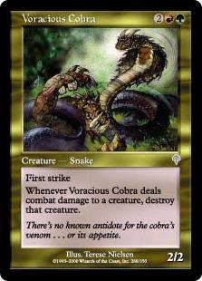 Voracious Cobra