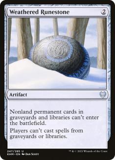 Weathered Runestone