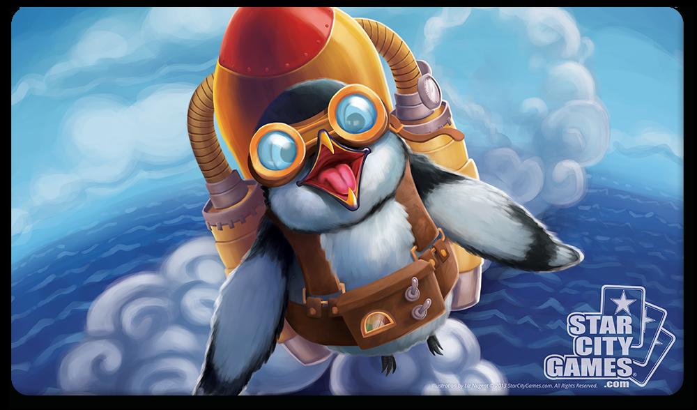 StarCityGames.com Playmat - Creature Collection - Penguin
