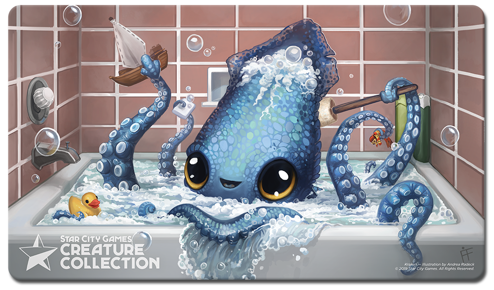 StarCityGames.com Playmat - Creature Collection - Kraken