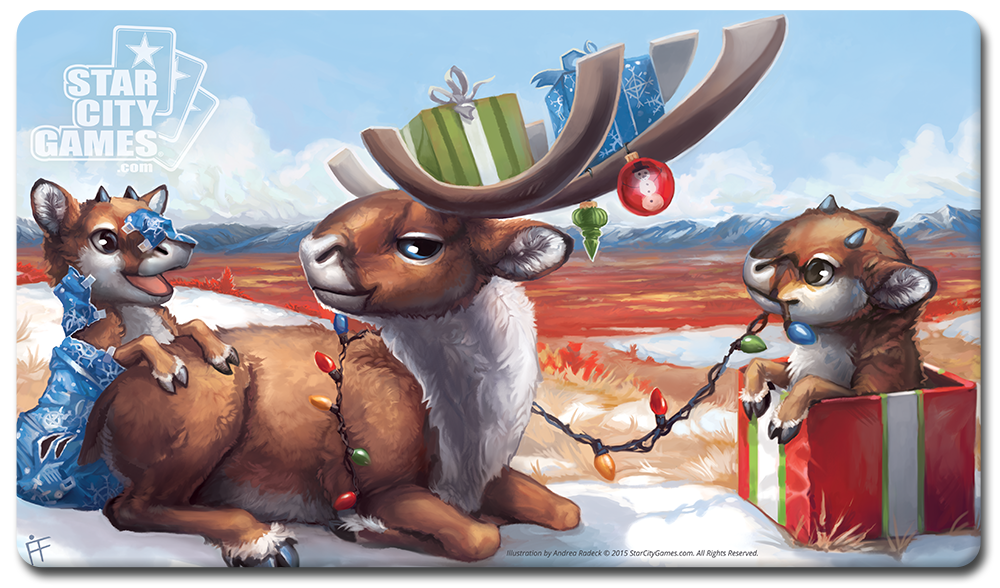 StarCityGames.com Playmat - Creature Collection - Reindeer