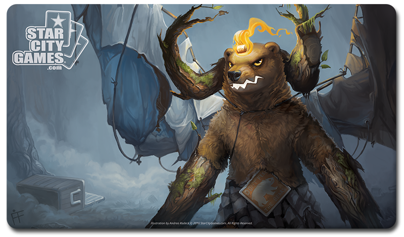 StarCityGames.com Playmat - Creature Collection - Grizzlybrand