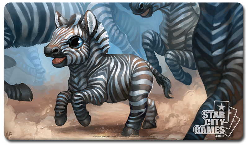 StarCityGames.com Playmat - Creature Collection - Zebra