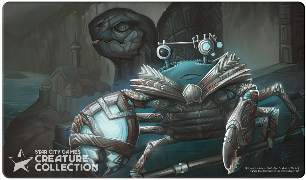 StarCityGames.com Playmat - Creature Collection - Snipcaster Mage