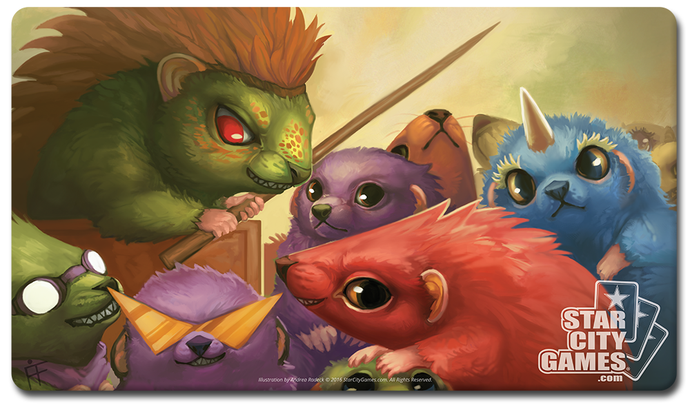 StarCityGames.com Playmat - Creature Collection - Hedgehogahog