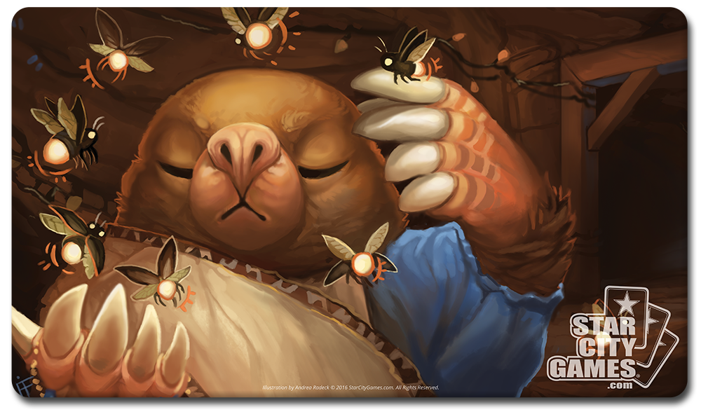 StarCityGames.com Playmat - Creature Collection - Mole Warden