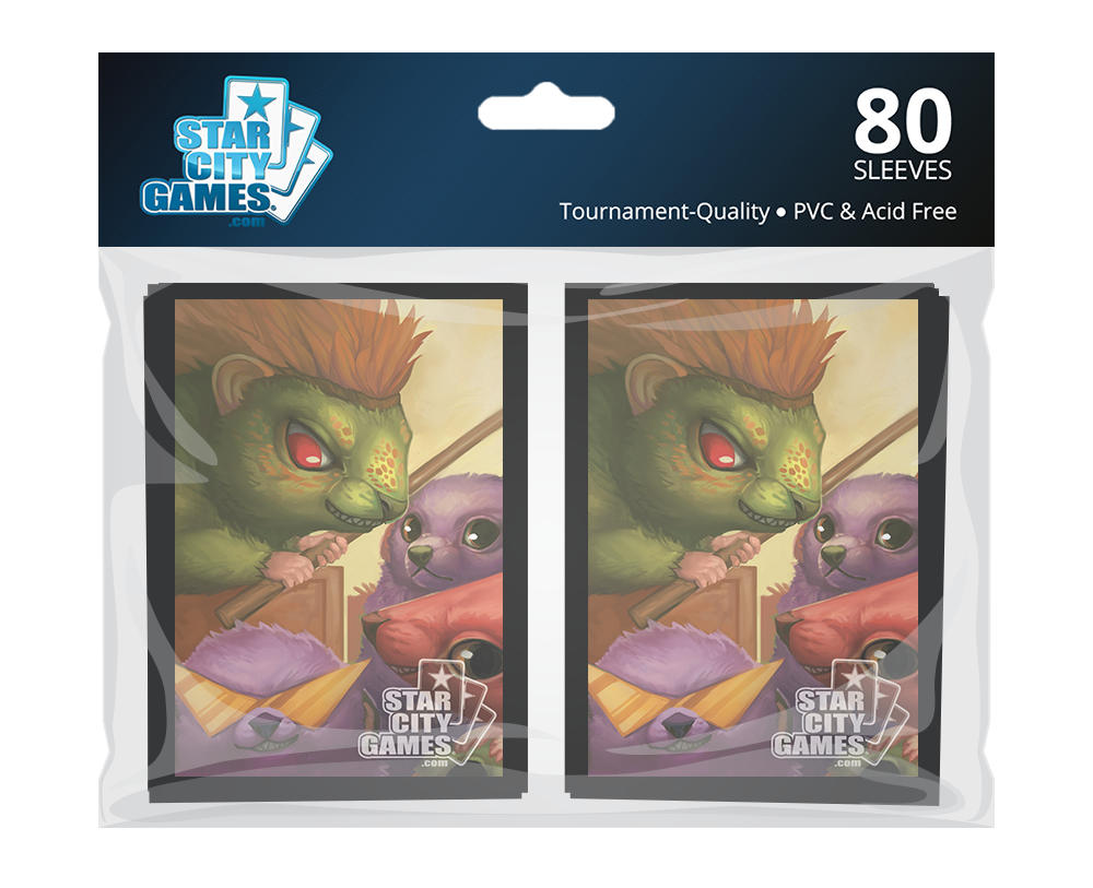 StarCityGames.com Sleeves - Creature Collection - Hedgehogahog