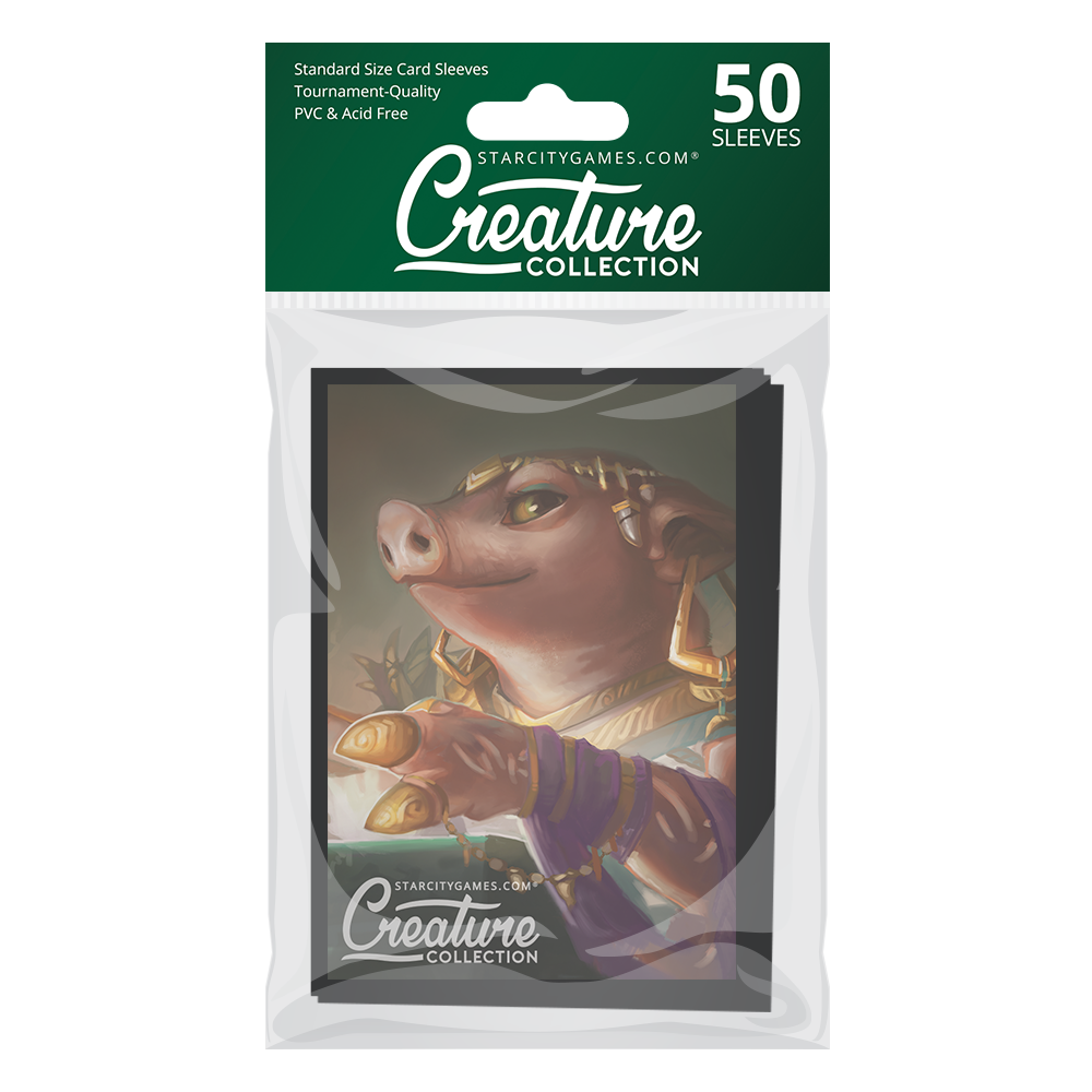 StarCityGames.com Matte Sleeves - Creature Collection - Pig Through Time