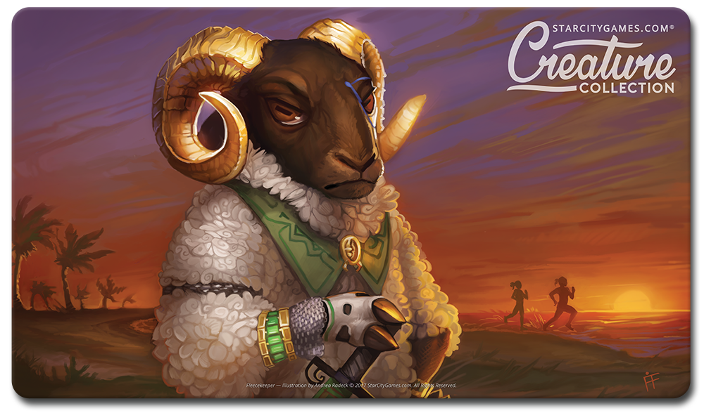 StarCityGames.com Playmat - Creature Collection - Fleecekeeper