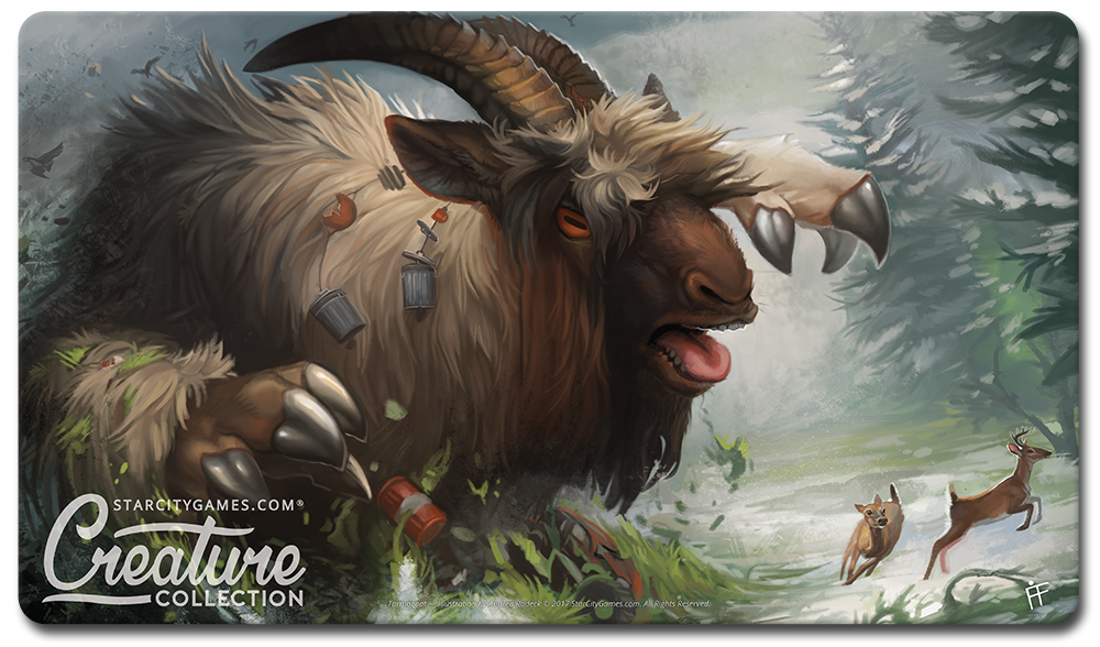 StarCityGames.com Playmat - Creature Collection - Tarmogoat
