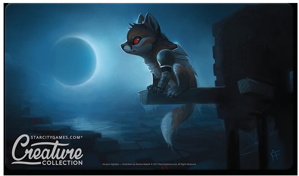 StarCityGames.com Playmat - Creature Collection - Vampire Nightfox