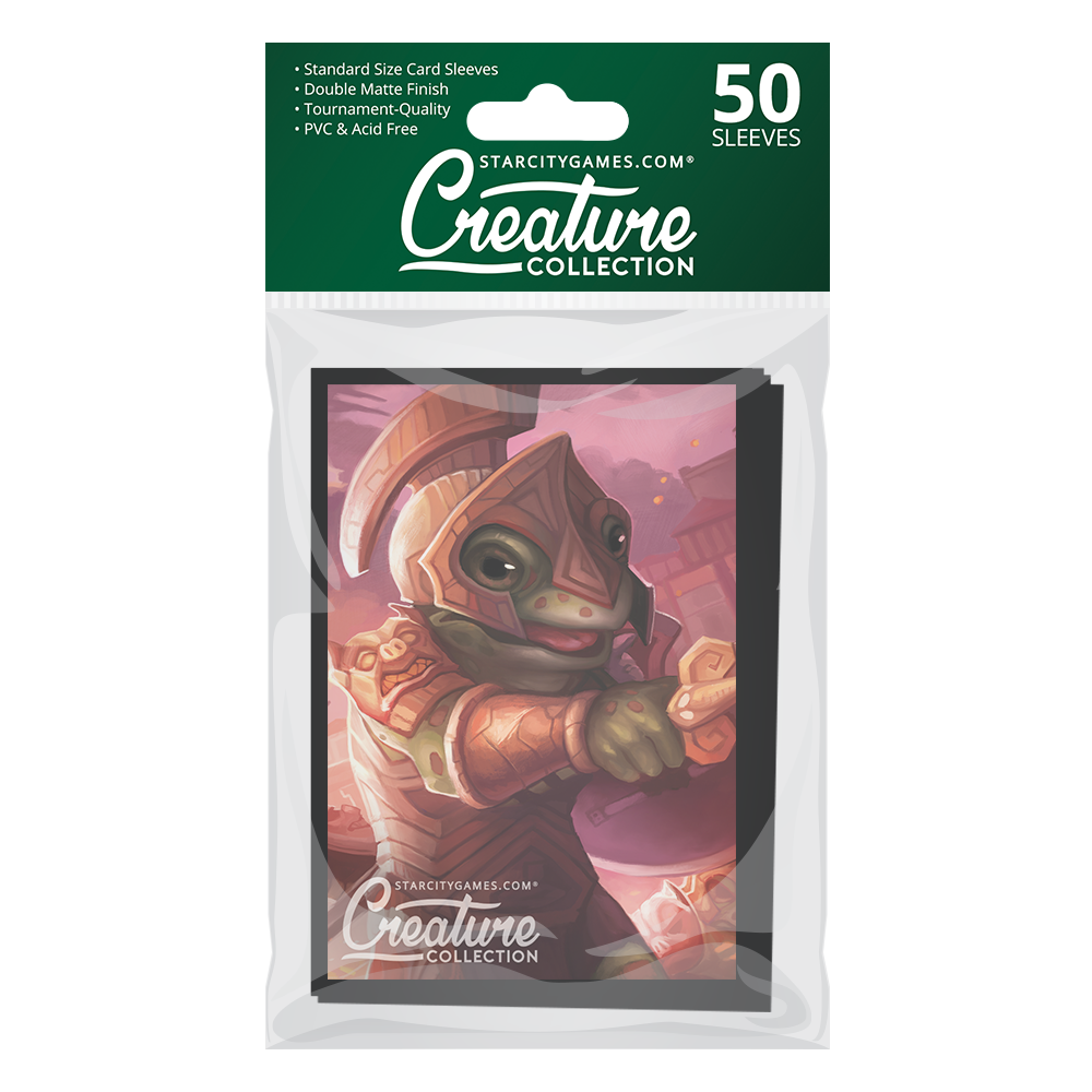 StarCityGames.com Matte Sleeves - Creature Collection - Acroakin