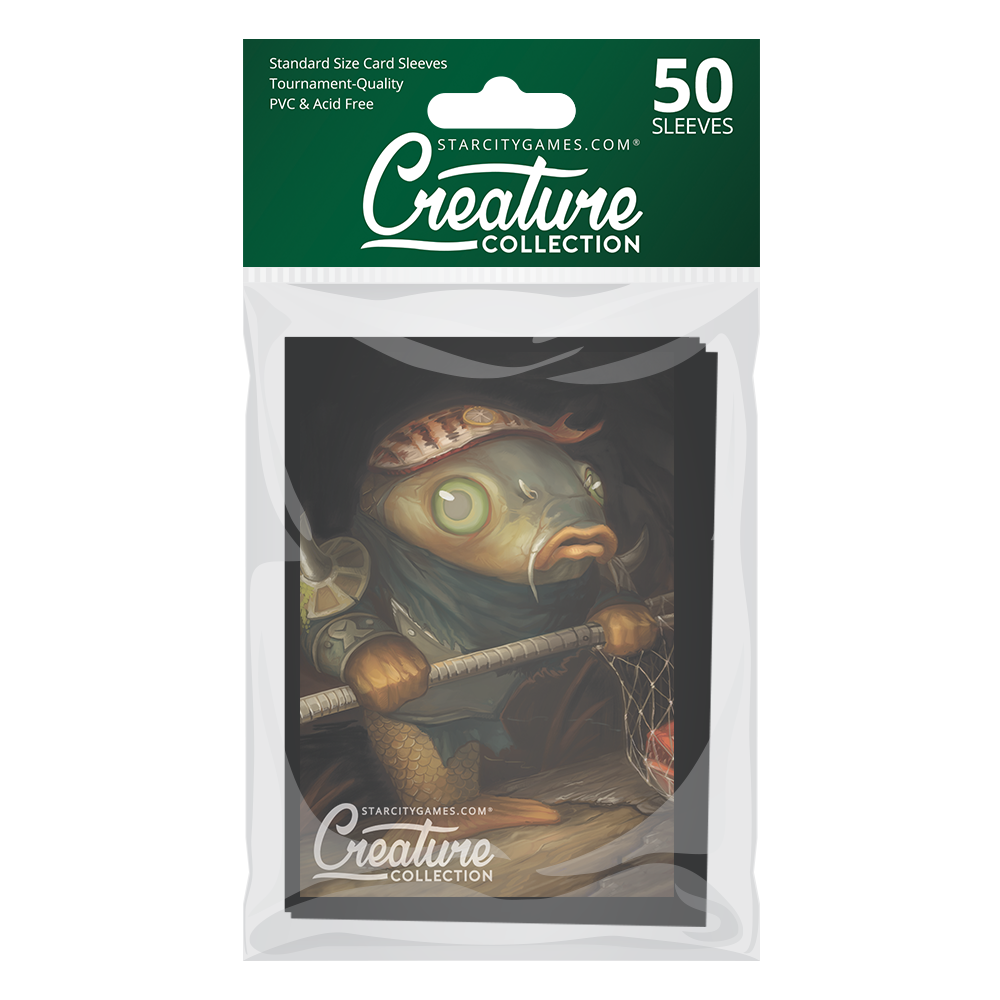 StarCityGames.com Matte Sleeves - Creature Collection - Murderous Redcarp