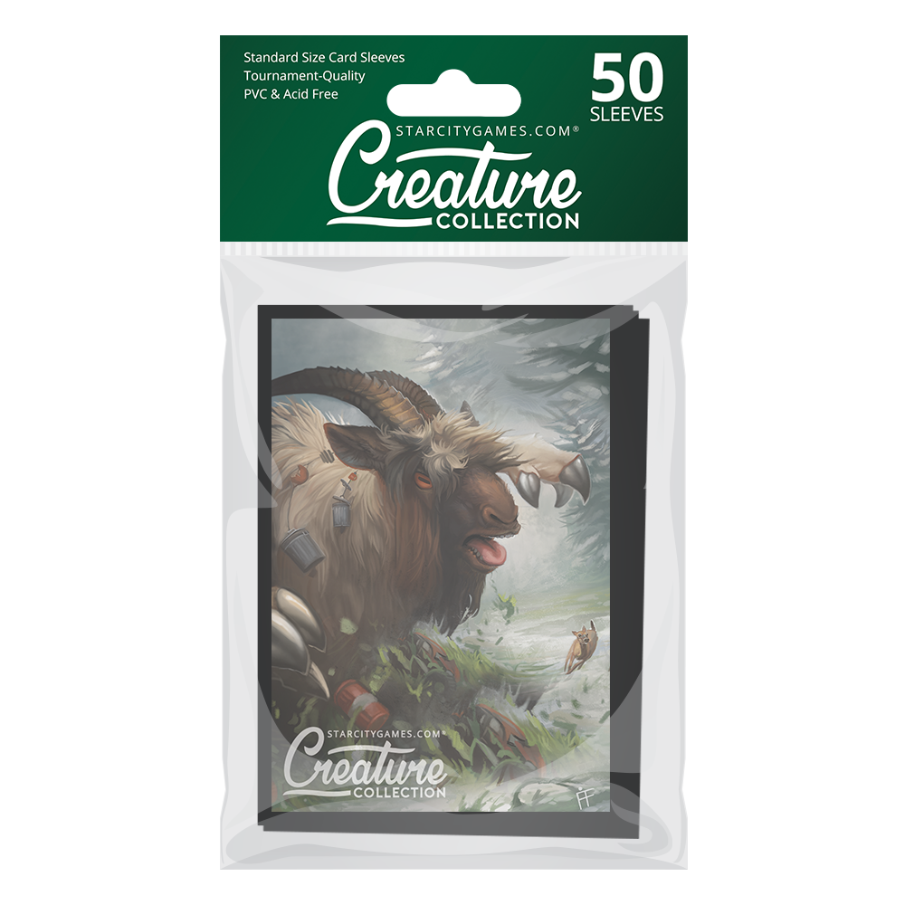 StarCityGames.com Matte Sleeves - Creature Collection - Tarmogoat