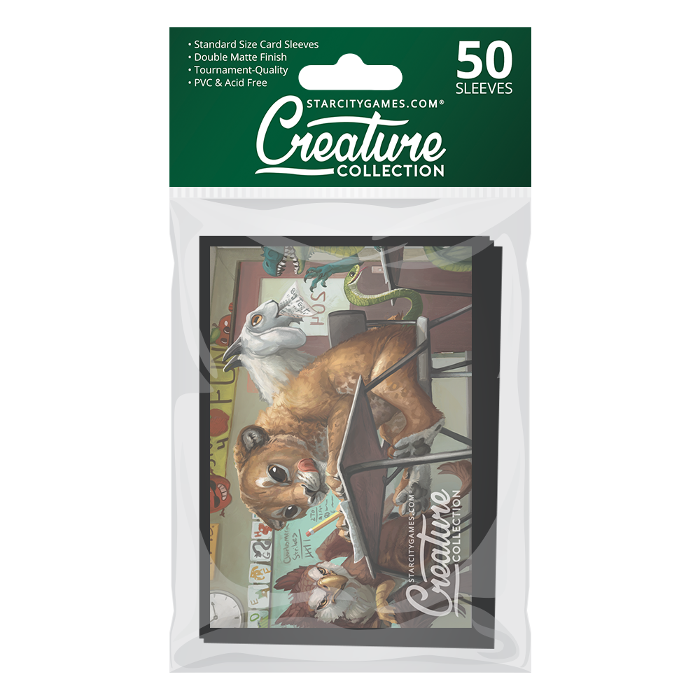 StarCityGames.com Matte Sleeves - Creature Collection - Heads of the Class