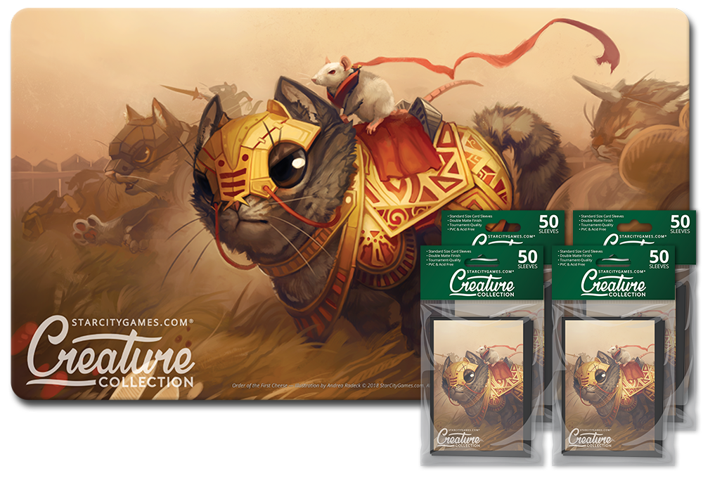 StarCityGames.com Player Bundle - Creature Collection - Order of the First Cheese
