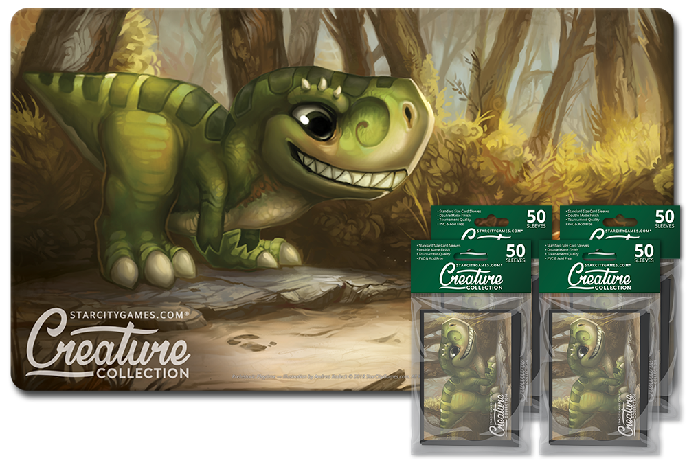 StarCityGames.com Player Bundle - Creature Collection - Prehistoric Playtime