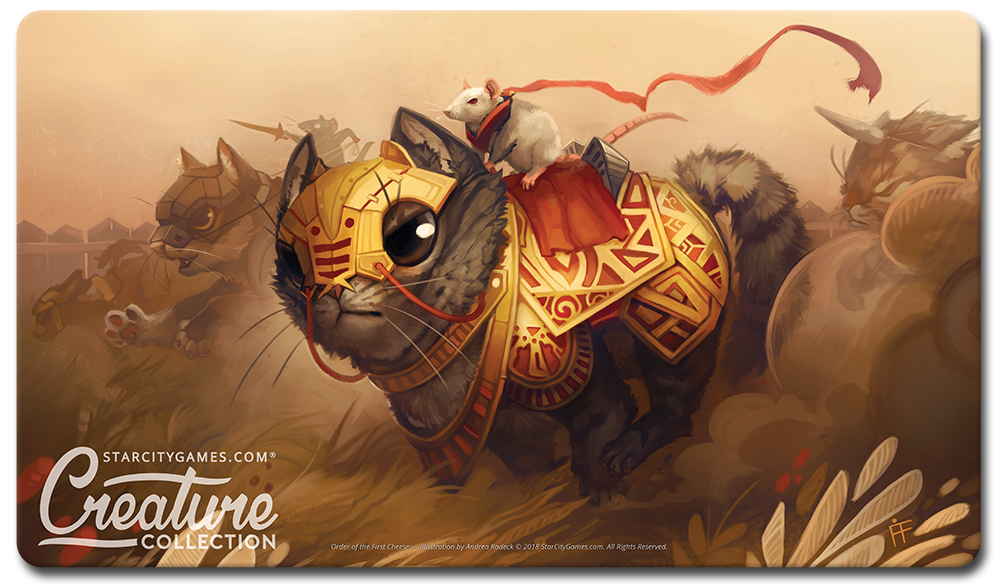 StarCityGames.com Playmat - Creature Collection - Order of the First Cheese