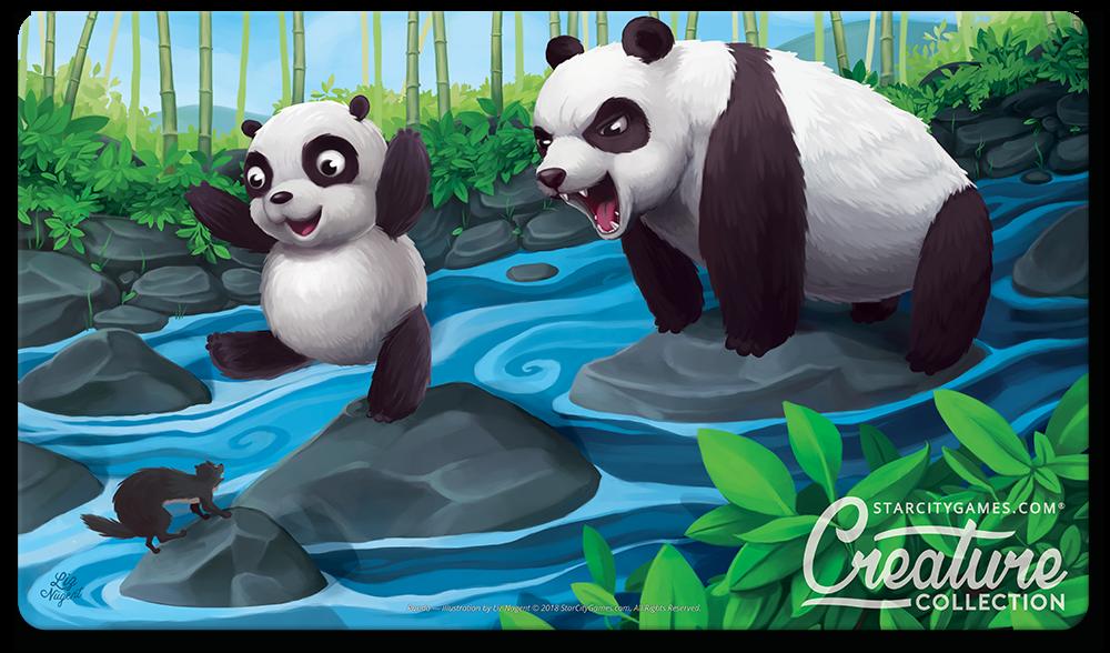 StarCityGames.com Playmat - Creature Collection - Panda