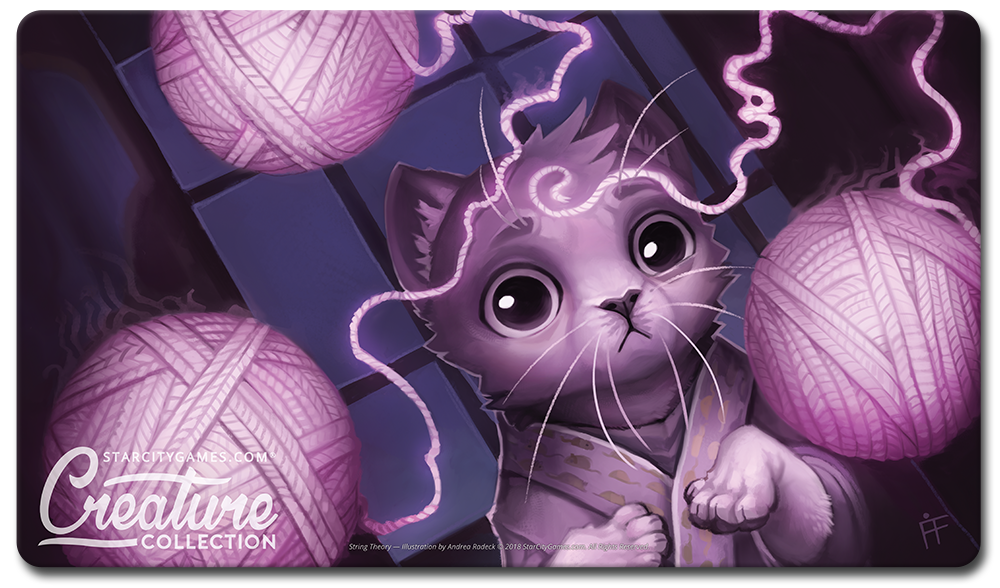 StarCityGames.com Playmat - Creature Collection - String Theory