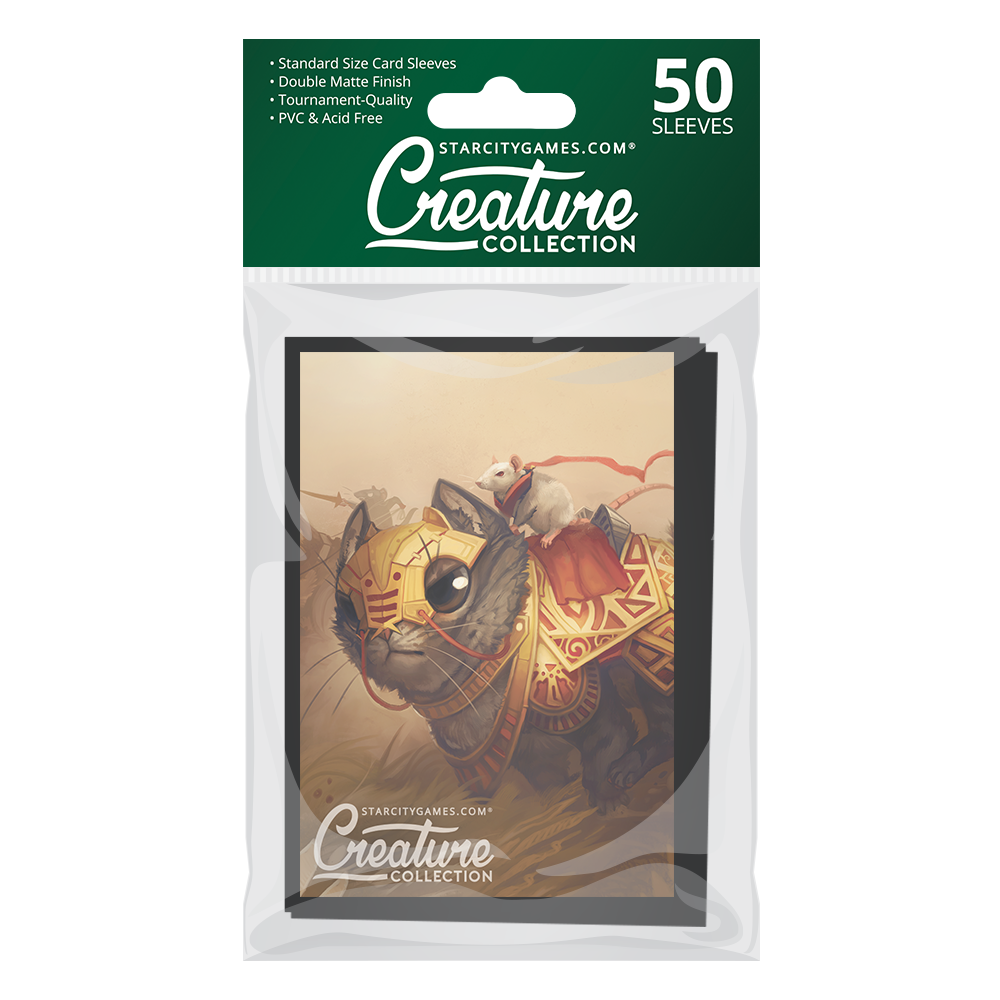StarCityGames.com Matte Sleeves - Creature Collection - Order of the First Cheese