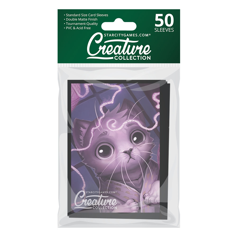 StarCityGames.com Matte Sleeves - Creature Collection - String Theory