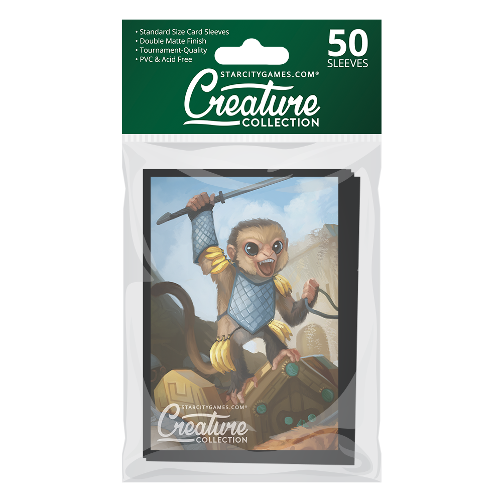 StarCityGames.com Matte Sleeves - Creature Collection - The Fast and the Curious