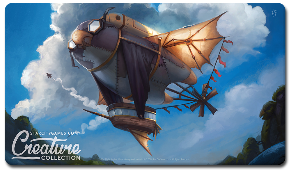StarCityGames.com Playmat - Prerelease Exclusive Creature Collection - The Flight Stuff