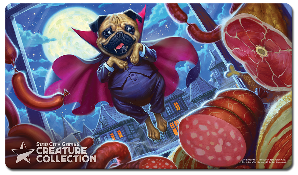 StarCityGames.com Playmat - Creature Collection - Bark Shadows