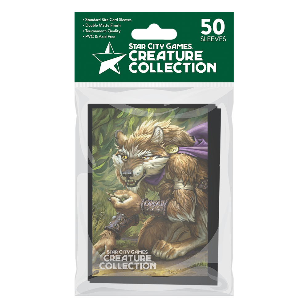 StarCityGames.com Matte Sleeves - Creature Collection - Chasing Your Trail