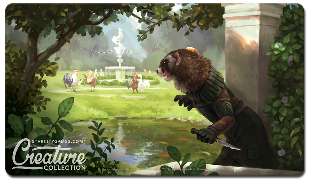 StarCityGames.com Playmat - Creature Collection - Cluck and Dagger