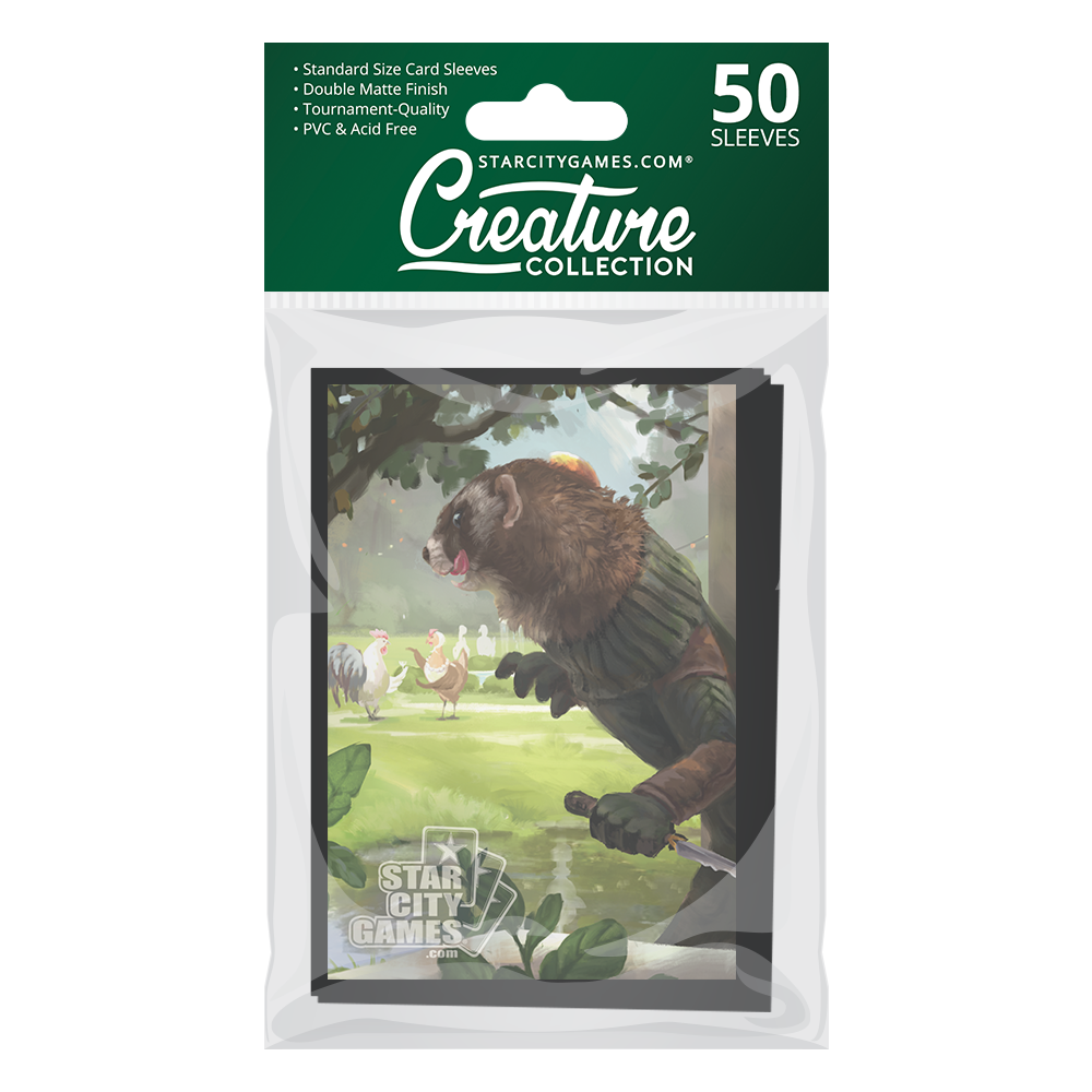 StarCityGames.com Matte Sleeves - Creature Collection - Cluck and Dagger