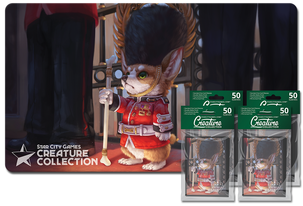 StarCityGames.com Player Bundle - Creature Collection - Fur Queen and Country