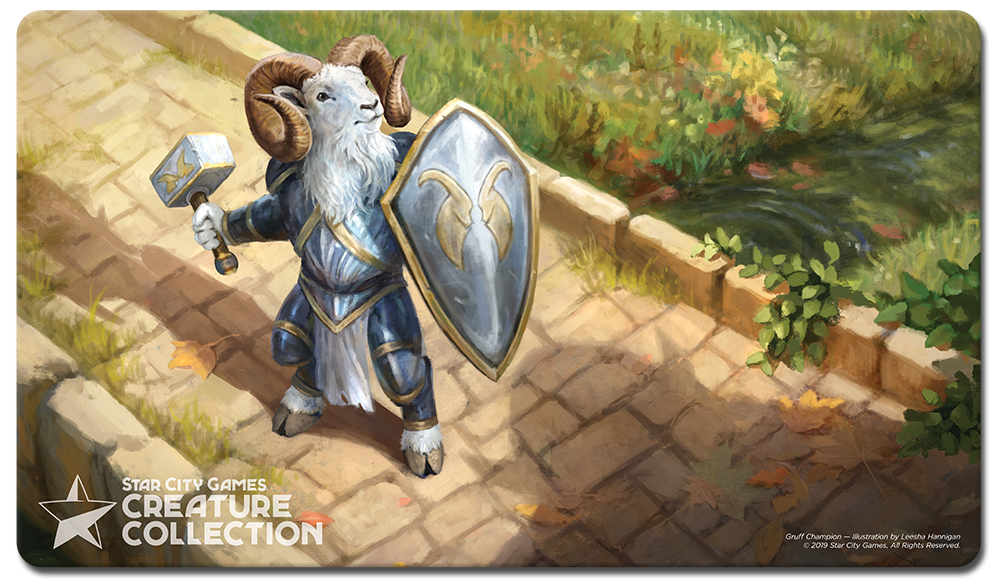 StarCityGames.com Playmat - Creature Collection - Gruff Champion