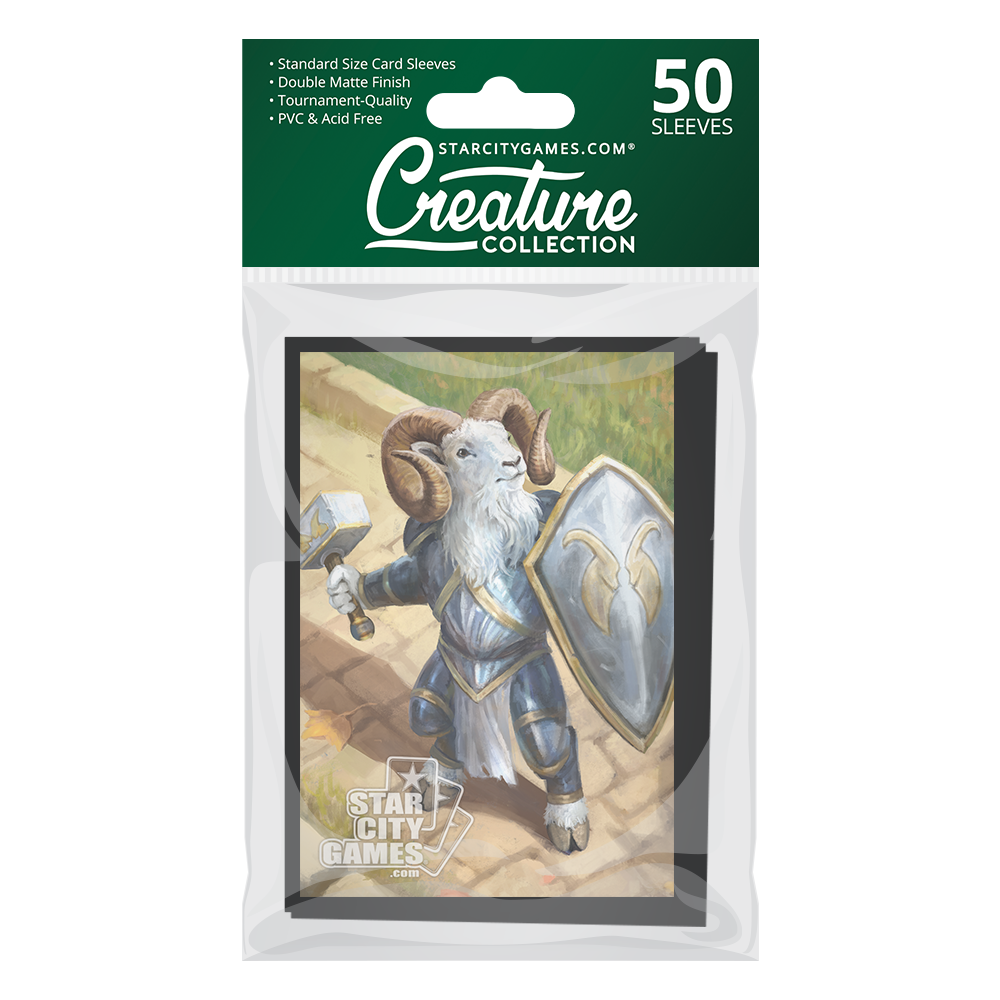 StarCityGames.com Matte Sleeves - Creature Collection - Gruff Champion