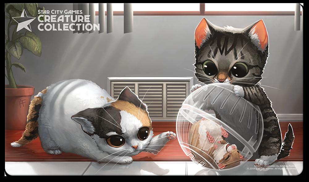 StarCityGames.com Playmat - Creature Collection - Kitten